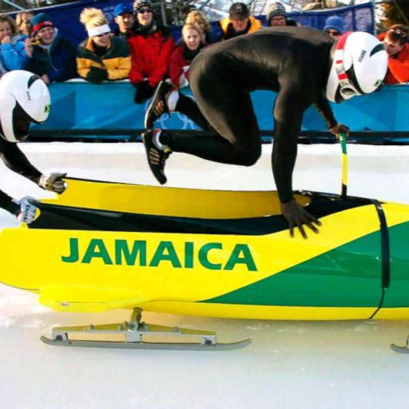 Někteří lidi nevěří, že jamajskej bob zvítězí