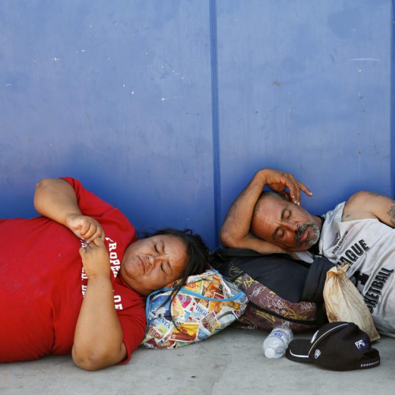 Bezdomovci hrozí stávkou