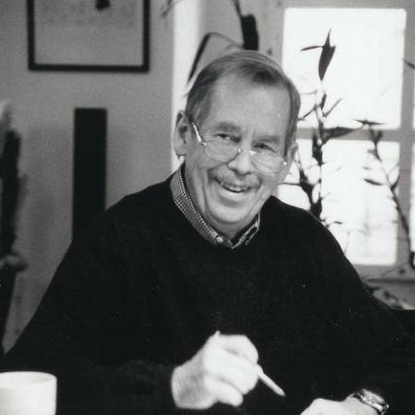 Václav Havel - modla pražské kavárny
