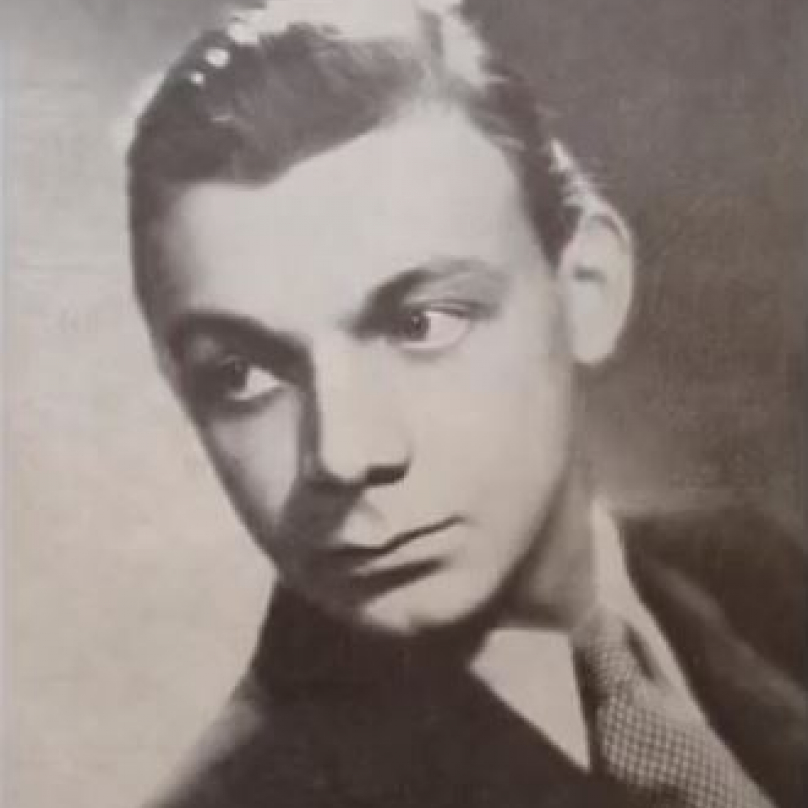Josef Kemr jako mladík