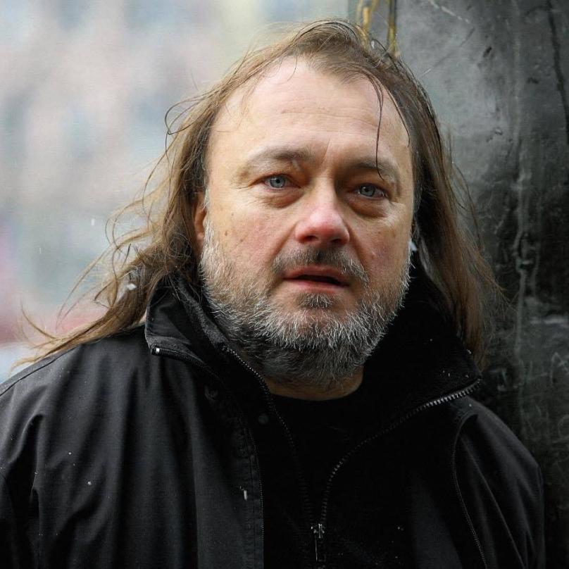 Kandidát SPD Ladislav Jakl. Zde bez koňského ohonu.