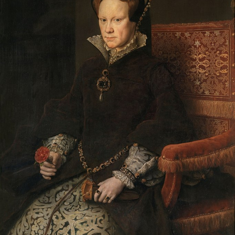 Portrét Krvavé Marie.