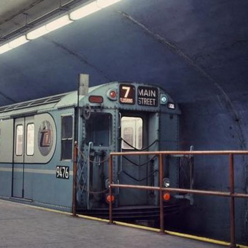Podzemka v New Yorku. Rok 1966.
