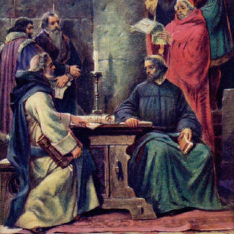 Jan Hus naposledy vyzván, aby odvolal. A just ne!