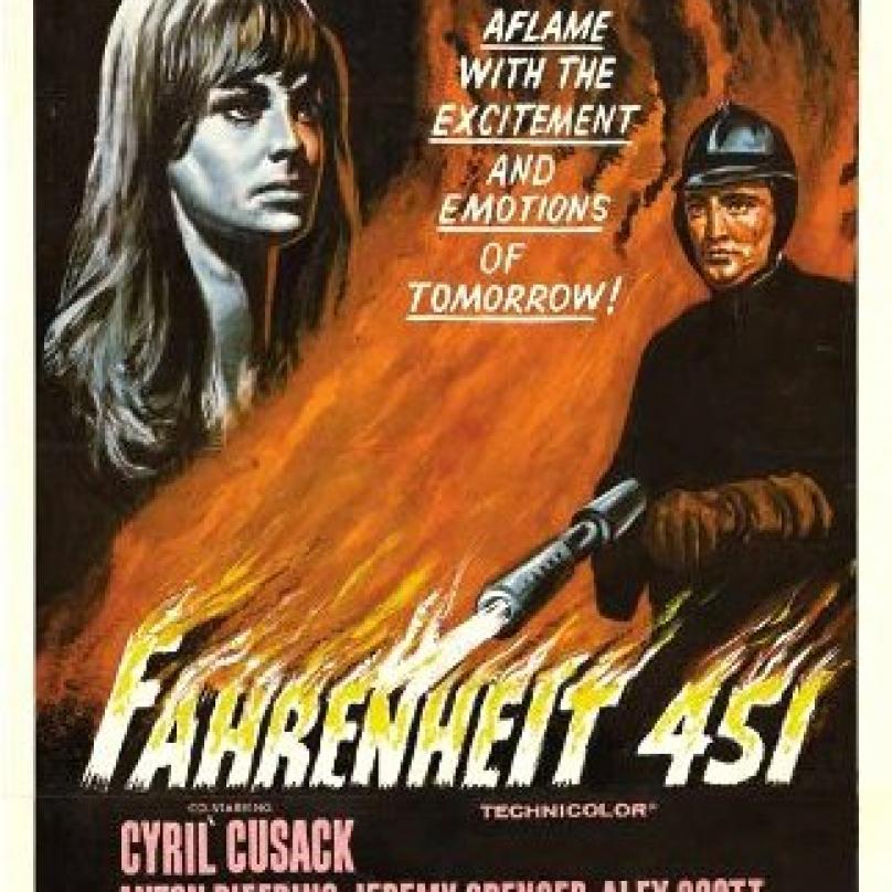 451 stupňů Fahrenheita bylo několikát zfilmováno. Poprvé v roce 1966.