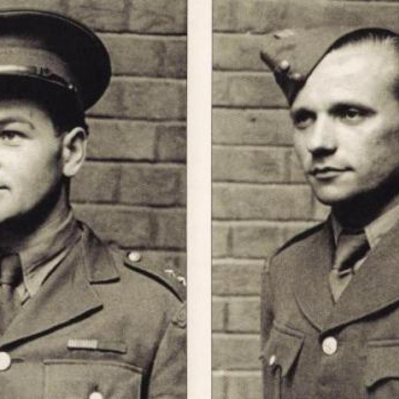 Jan Kubiš a Jozef Gabčík, hlavní osobnosti operace Anthropoid a dva z největších československých hrdinů vůbec.