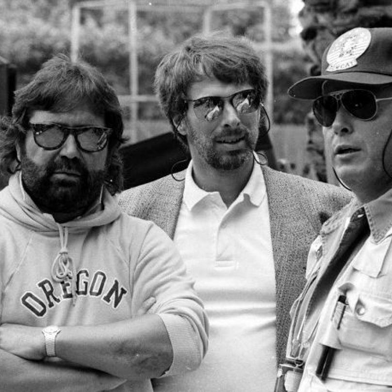 Top Gun byl Scottovou první velkou hollywoodskou šancí a producent Jerry Bruckheimer (vlevo) ho po pár dnech málem vyhodil.