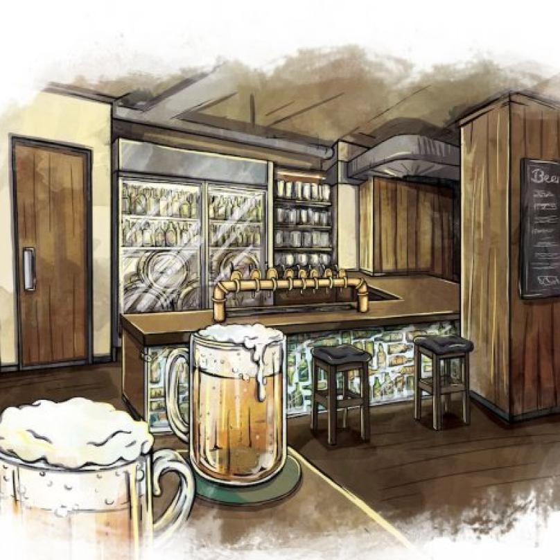 V Pípě na pípě bude každý den minimálně 8 druhů čepovaného piva a několik desítek druhů lahvového