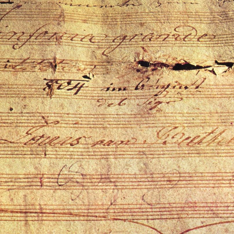 Beethovenovu 3. symfonii známe jako Heroickou. Původně ale měla být věnována Napoleonovi.