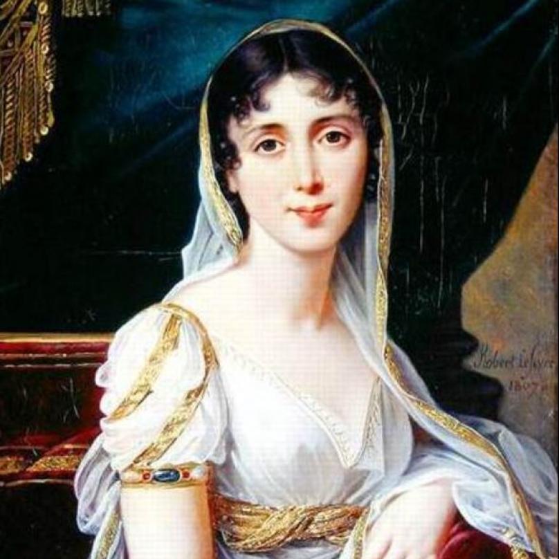 Eugénie Désirée Claryová, kráska, která mladému Napoleonovi učarovala natolik, že o ní napsal román.
