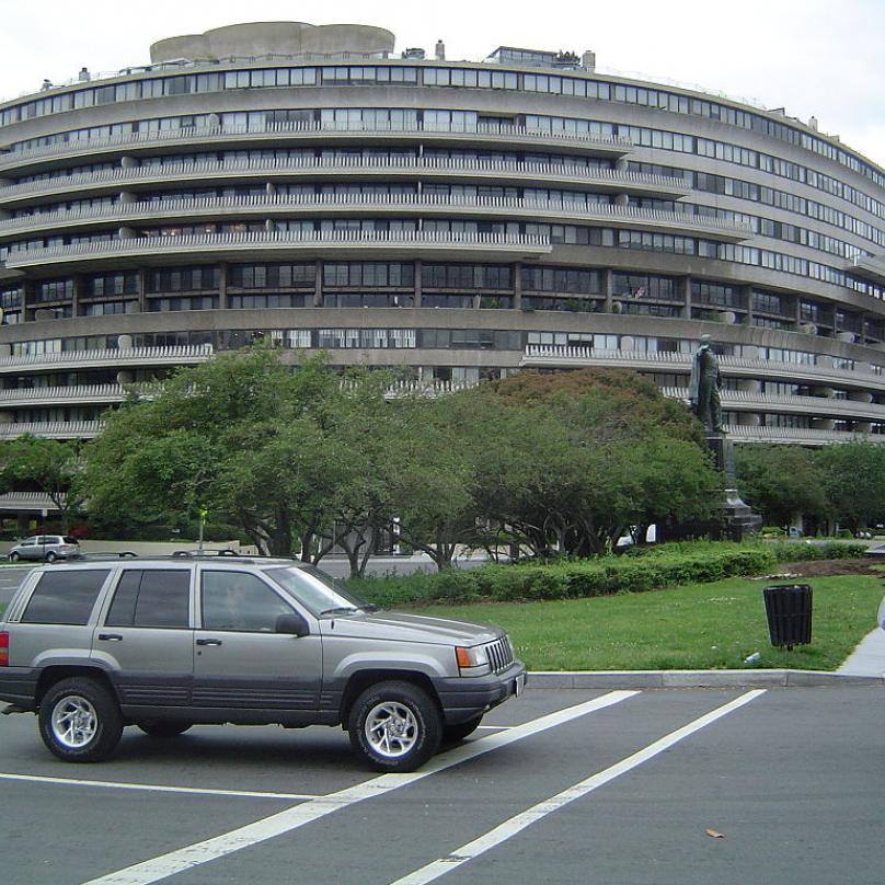 Washingtonský komplex Watergate. Právě zde se začal psát začátek Nixonova konce.