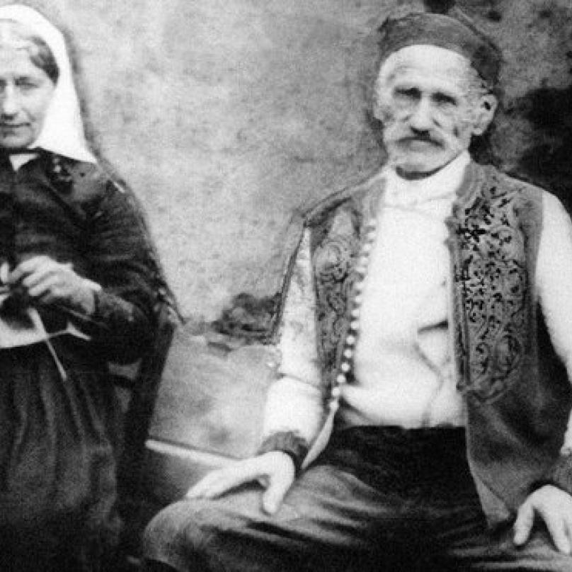 Rodiče Gavrilo Principa Petar a Marija.