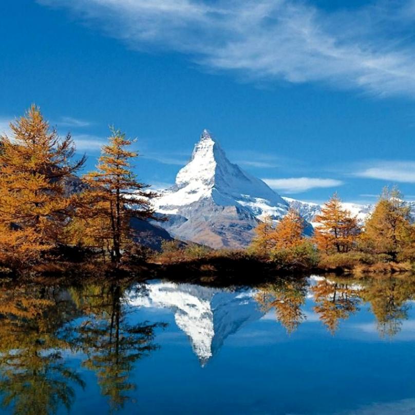 Jódlování je tradičním švýcarským zpěvem.