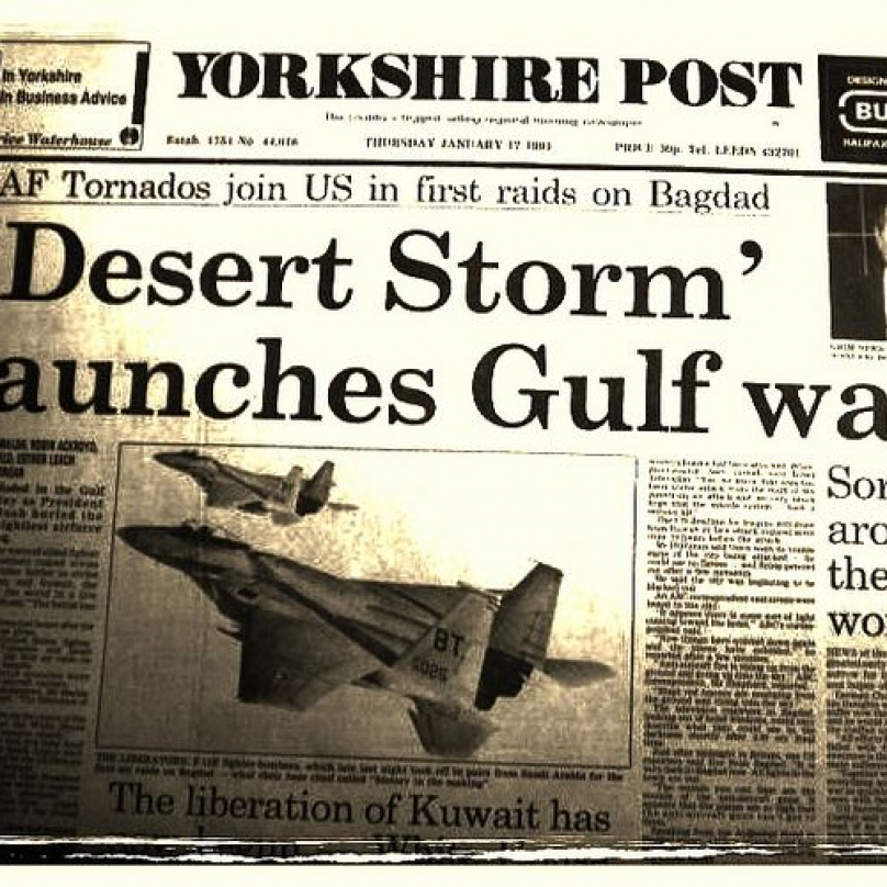 Válka v Zálivu přinesla zcela nový přístup médií k ozbrojeným konfliktům.