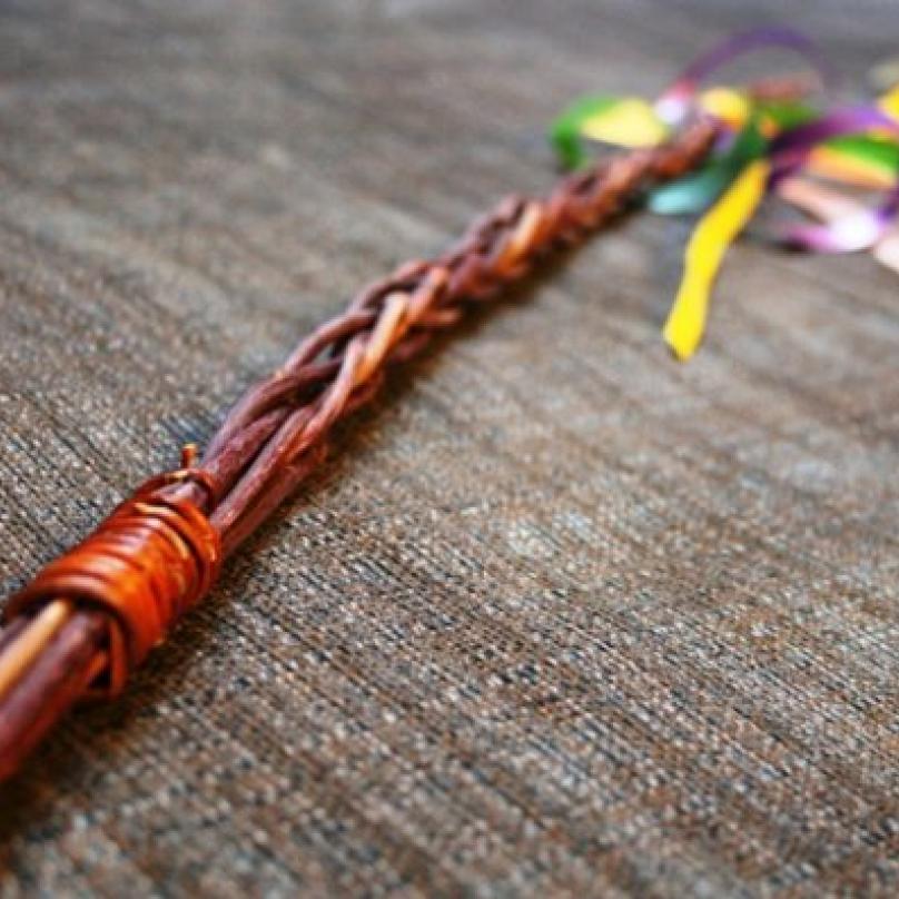 Pomlázka upletená z mladých vrbových proutků je symbolem křesťanských Velikonoc mnohem starším než křesťanství samotné.