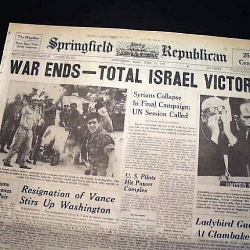 Izrael zvítězil navzdory totální přesila arabské koalice.