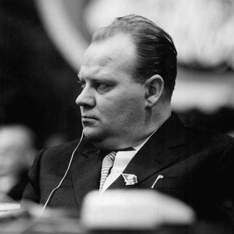 Drahomír Kolder byl jedním z nejortodoxnějších komunistů. Tvrdě vystupupoval proti jakýmkoliv reformám.