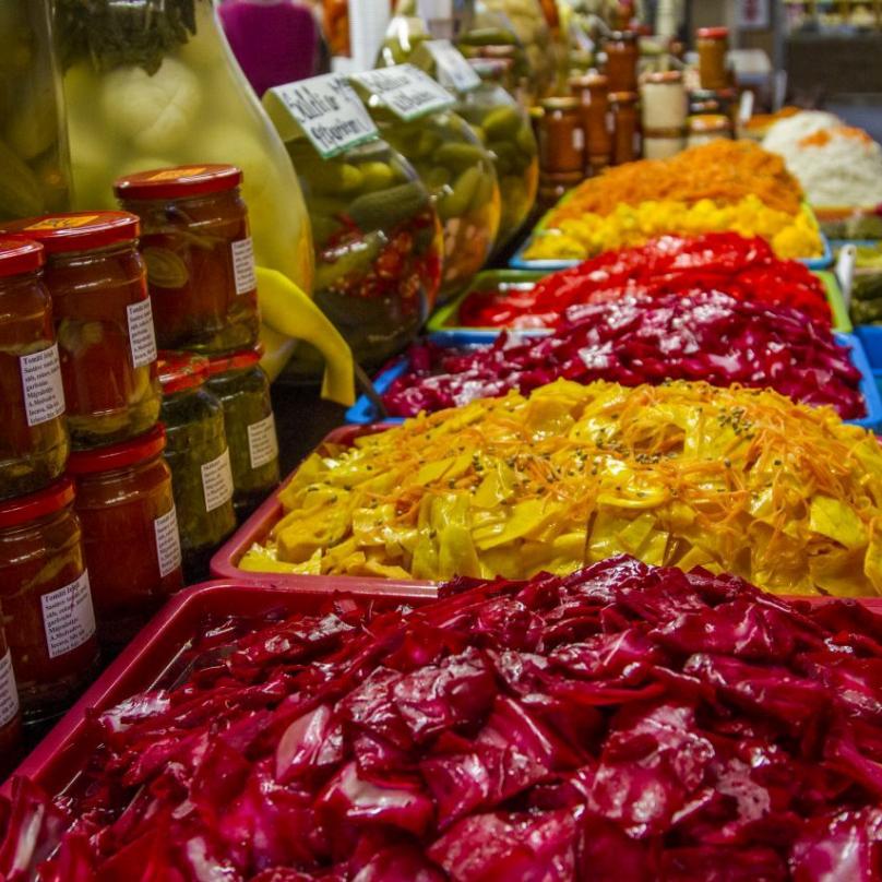 Ráj pro milovníky čerstvého kyselého zelí a nakládané zeleniny