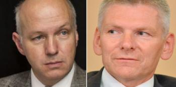 Do prezidentských voleb míří dva noví kandidáti - Pavel Fischer a Jiří Hynek.