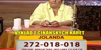 Věštkyně Jolanda vidí do minulosti i budoucnosti.