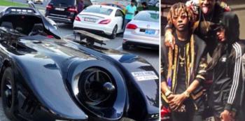 Mugabeho syn jezdí speciálně vyrobeným Batmobilem a nosí tenisky od slavného návrháře vyrobené z pravé krokodýlí kůže.