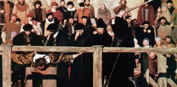 Krutovláda Marie I. Tudorovny byla prostoupena popravami.