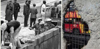 Berlínská zeď byla postavena před 58 lety.