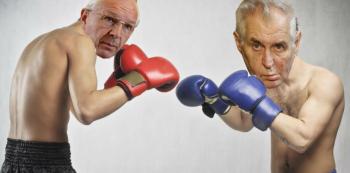 Kdo zvítězí v boji o Hrad? Ve druhém kole se utkají Jiří Drahoš a Miloš Zeman.