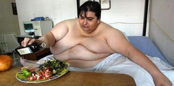 Pokud držíte dietu, nesmíte to žrát i se stolem a talířem. To se pak míjí účinkem