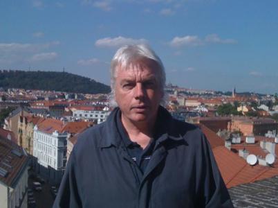 David při své první návštěvě v Praze před šesti lety. Zastavil se i na pražském Vyšehradě.