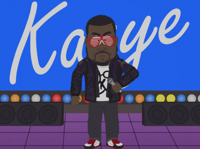 Kanye dostal sodu dokonce ve dvou různých dílech legendárního South Parku. To již něco značí.