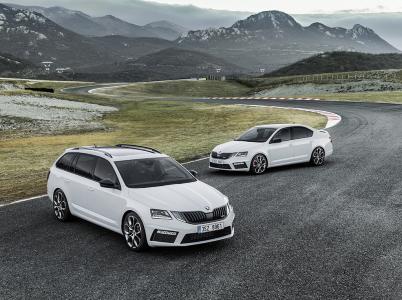Nová Škoda Octavia RS a Škoda Octavia Combi RS