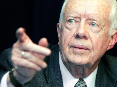 I v 93 letech exprezident Jimmy Carter sleduje aktuální dění a vyjadřuje se k němu.