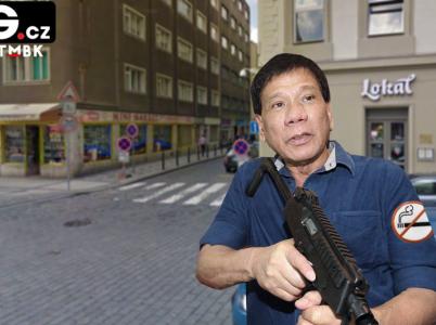 Filipínský řezník si v ulicích Prahy libuje. Na rozdíl od domovské Manily zde může lidi zabíjet v malebných historických kulisách.