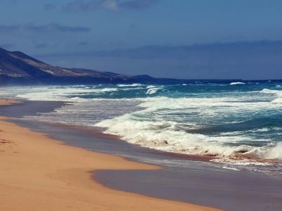 Fuerteventura, to je ostrov plný nekonečných pláží.