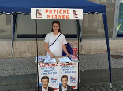 Tereza Hyťhová je snažilka z ústecké SPD