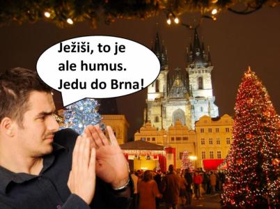 Není moc věcí, ve kterých je Brno lepší než Praha, rozhodně mezi ně ale patří způsob nakládání s předvánočním časem.