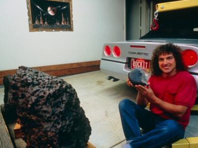Robert Haag je jeden z největších obchodníků s meteority na světě