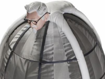 Stylová Faradayova klec od KFC vás ochrání před zářením z telefonů a tabletů.