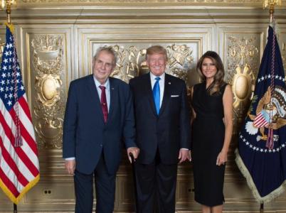 Zeman má s Trumpem společnou fotografii. U té ale jejich vztah asi zůstane.