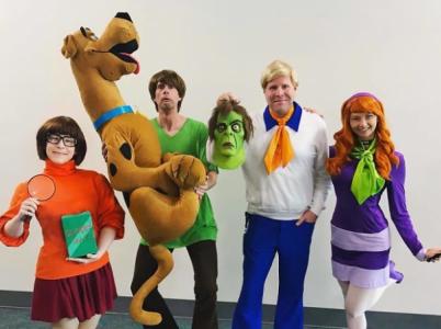 Scooby-Doo a jeho gang.