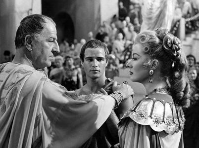 Caesar (vlevo) ve filmovém zpracování z roku 1950.