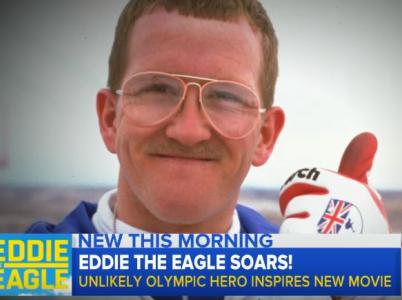 """Nulový talent, maximální odhodlání. Michael """"Eddie"""" Edwards je asi nejhorším skokanem na lyžích historie, zároveň je ale také legendou."""