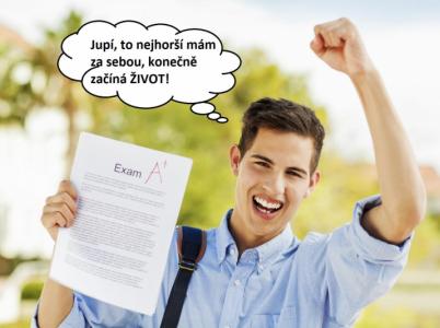 Studenti právě trpí ve zkouškovém období a mají pocit, že až to skončí, bude všechno fajn. Omyl.