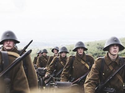 Německá invaze do Dánska byla součástí operace Weserübung. (foto z filmu 9. duben)