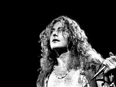 Britský rockový zpěvák Robert Plant.