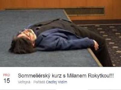 Poznej krásy vinných chutí pod dozorem zkušeného Milana Rokytky! Facebook se baví excesem komunistického politika.