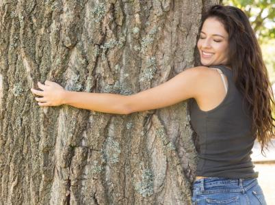 Objímání dubu letního (Quercus robur)