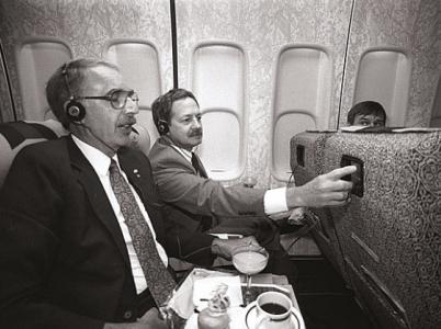 Rok 1988 a první osobní zábavní systém. Displeje měly tehdy miniaturní úhlopříčku 2,7 palce.