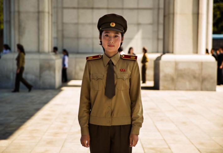 Vojačka v hlavním městě